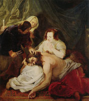 Pieter Soutman Samson and Delilah