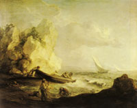 Thomas Gainsborough Seascape