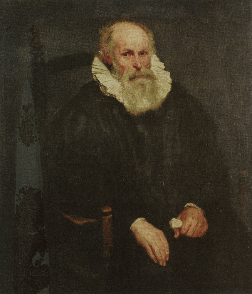 Anthony van Dyck - Portrait of an Elderly Man