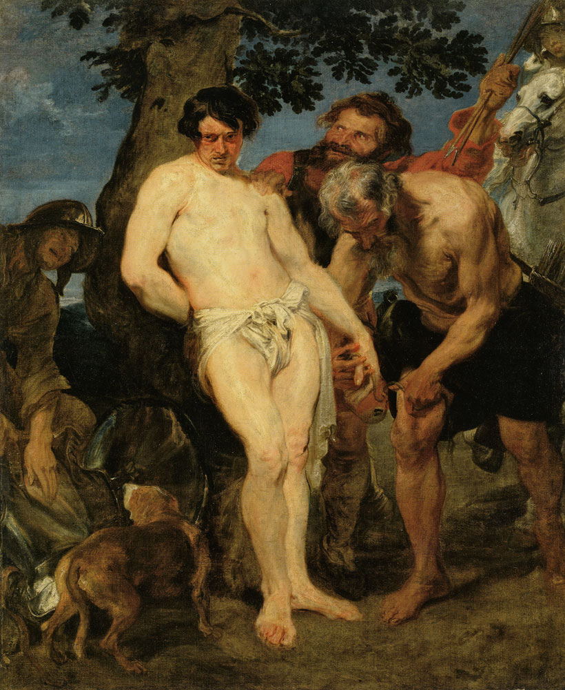 Anthony van Dyck - Saint Sebastian Bound for Martyrdom
