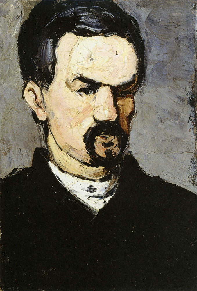 Paul Cézanne - Portrait of uncle Dominique