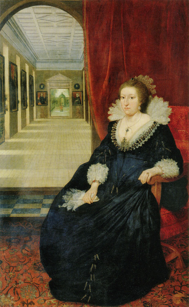 Daniel Mijtens - Aletheia Talbot, Countess of Arundel and Surrey
