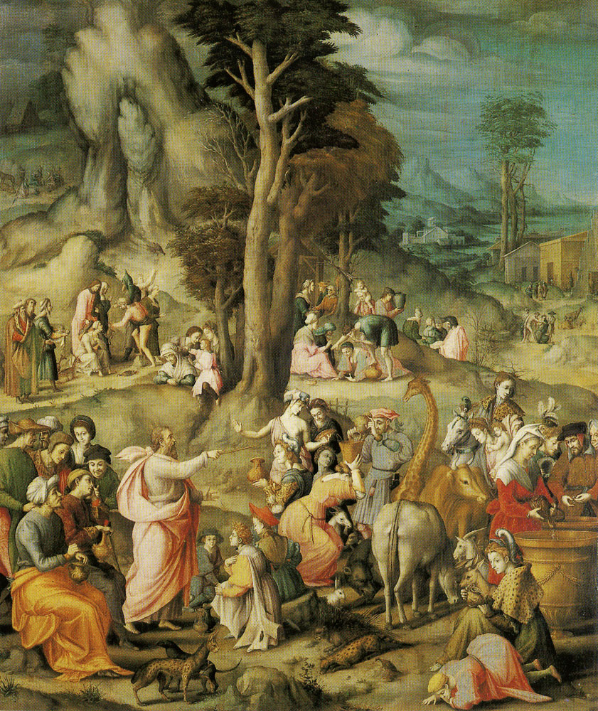 Francesco Bacchiacca - The gathering of Manna
