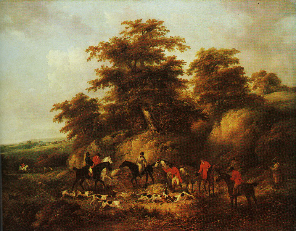 George Morland - The End of the Hunt