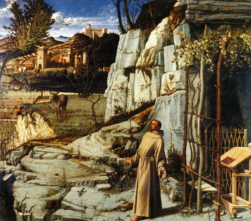 Giovanni Bellini - Saint Francis of Assisi in Ecstasy