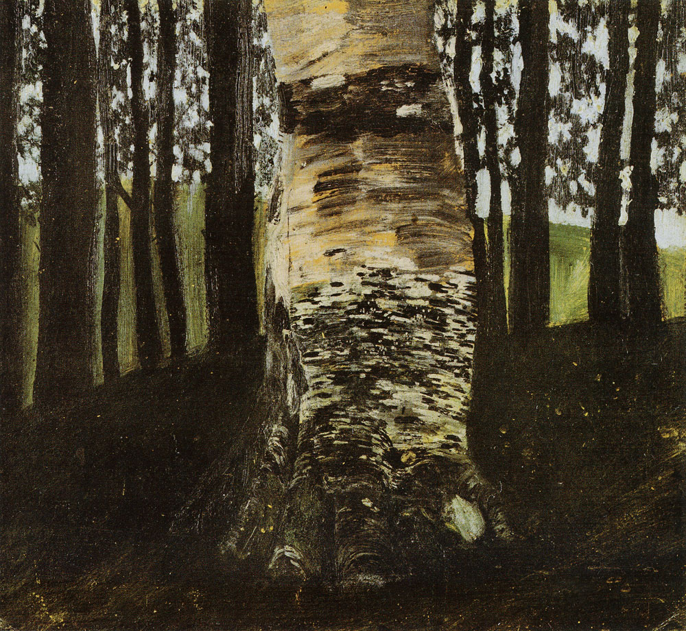 Gustav Klimt - Beech in the Forest