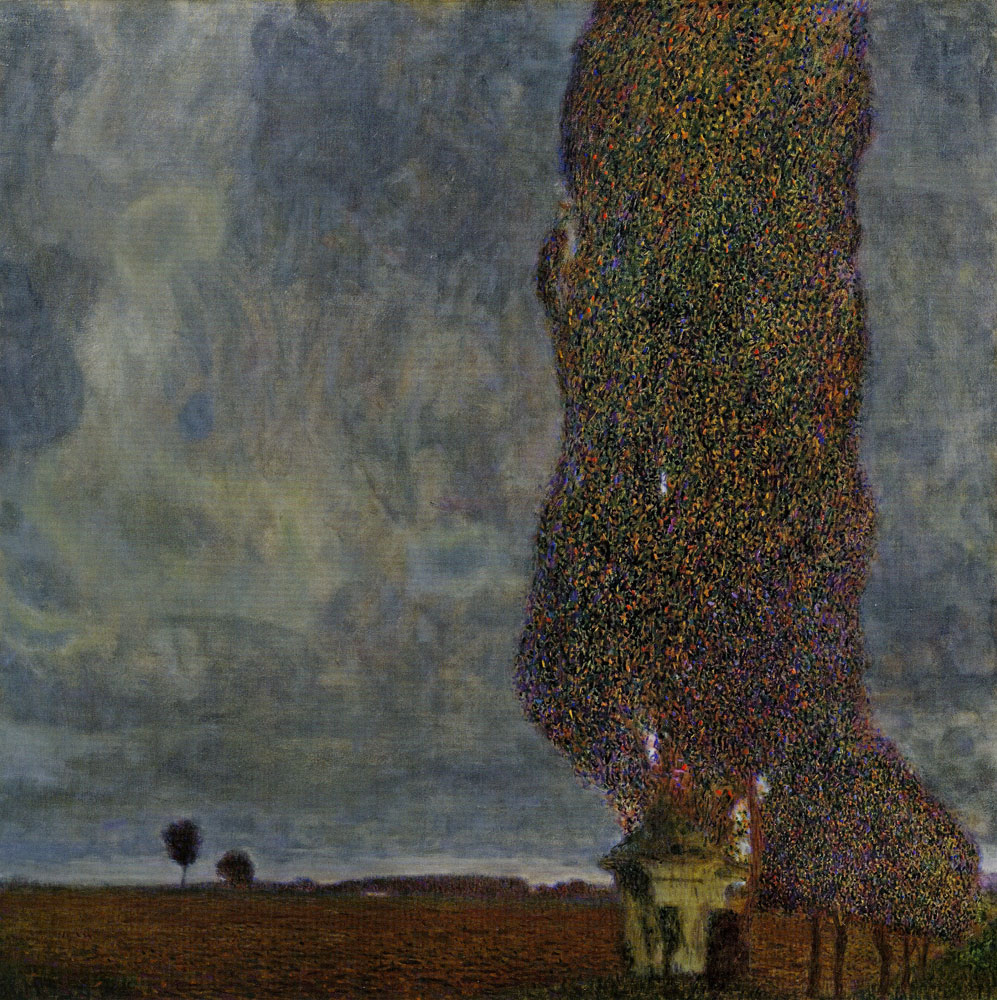 Gustav Klimt - The Tall Poplar Tree II