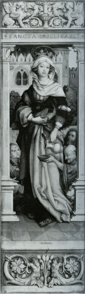 Hans Holbein the Younger - Saint Elizabeth of Hungary