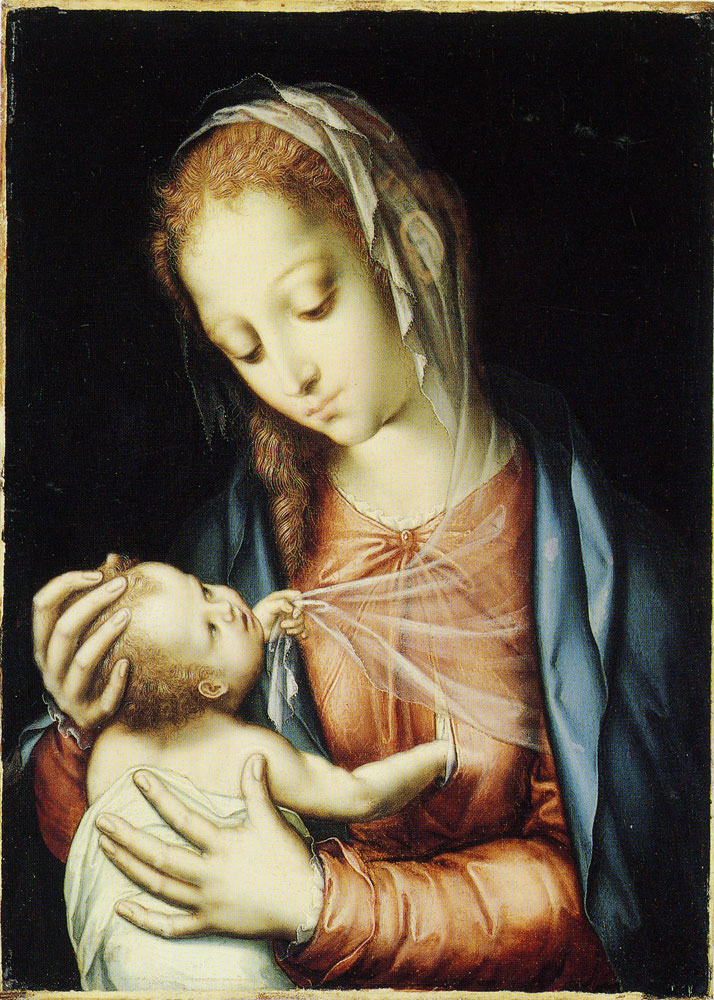 Luis de Morales - The Virgin and Child
