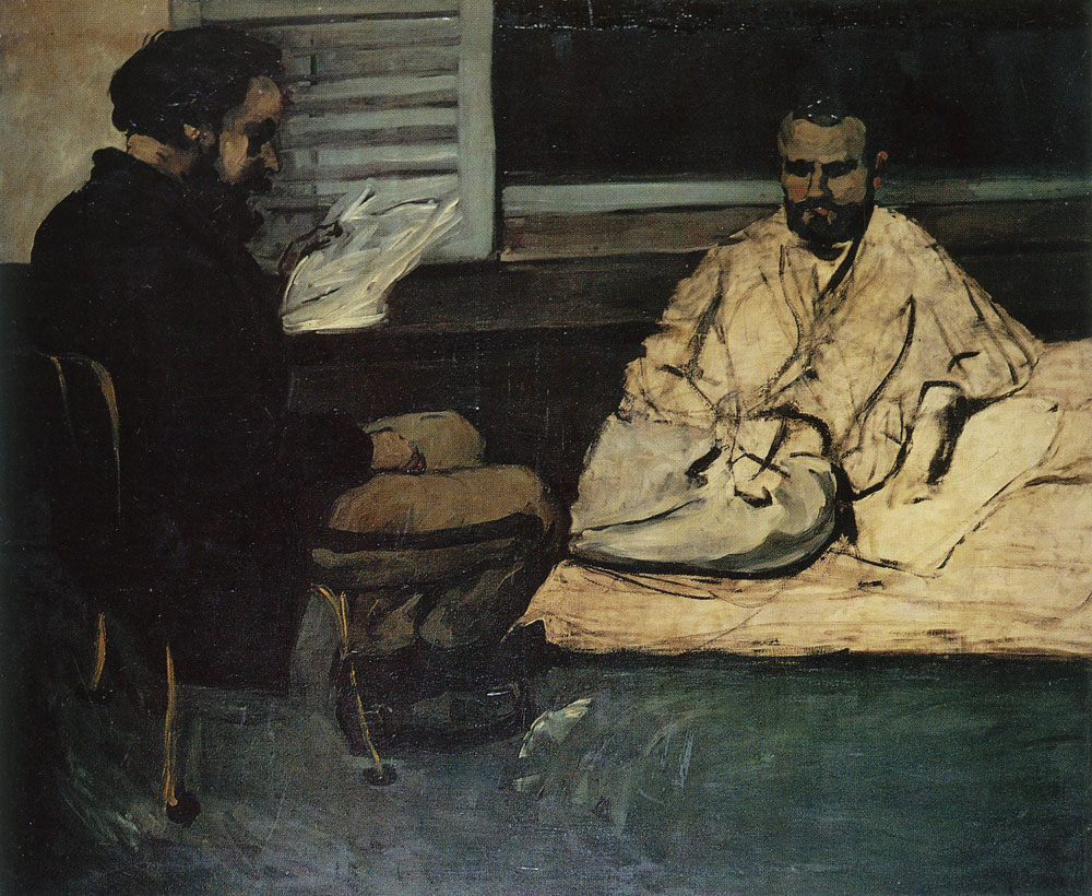 Paul Cézanne - Paul Alexis reading to Émile Zola