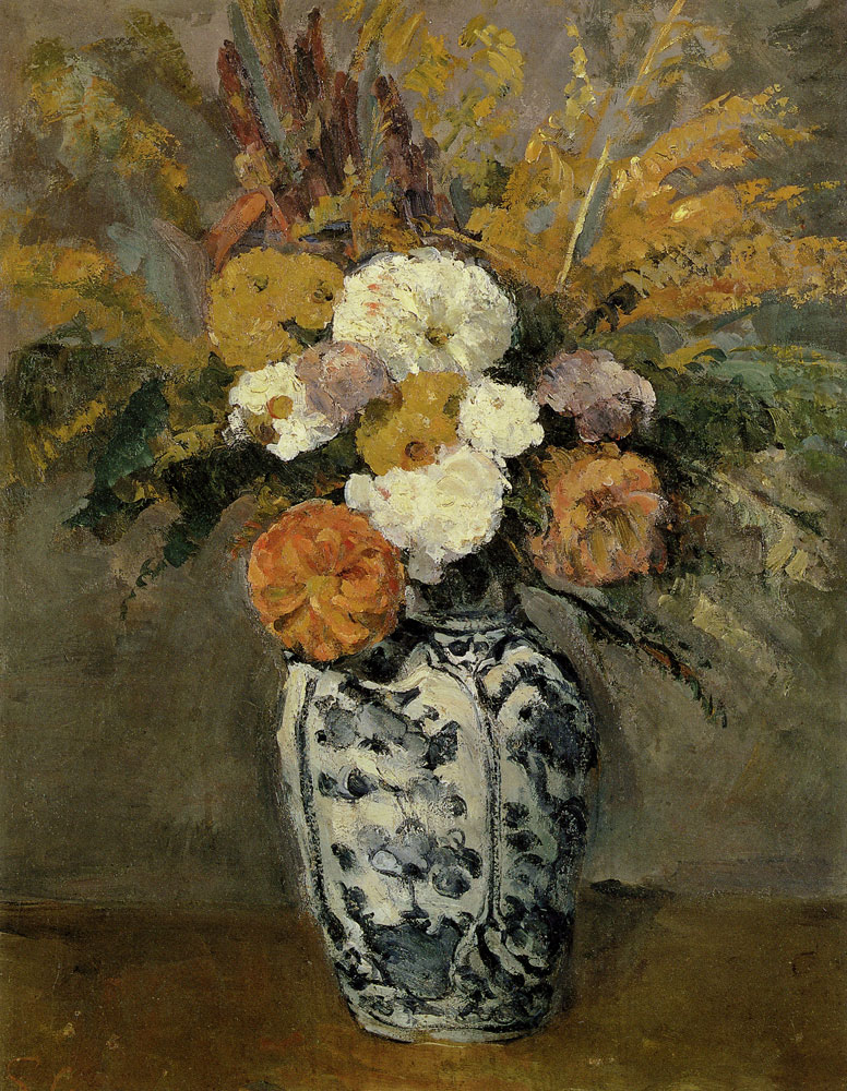 Paul Cézanne - Dahlias