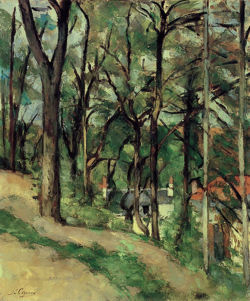 Paul Cézanne - Orchard, Côte Saint-Denis, at Pontoise