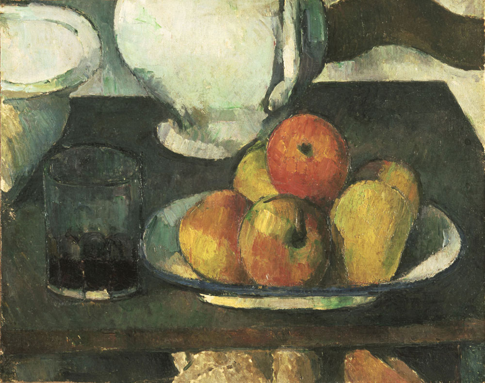 Paul Cézanne - Still Life with Apples and a Glass of Wine