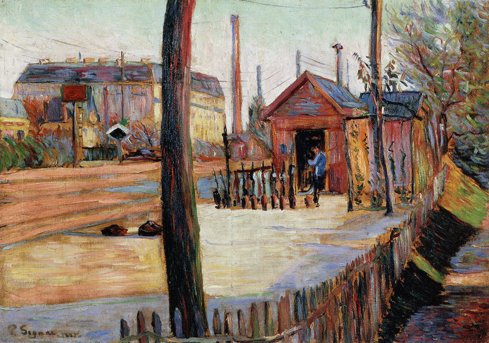 Paul Signac - The Junction at Bois-Colombes