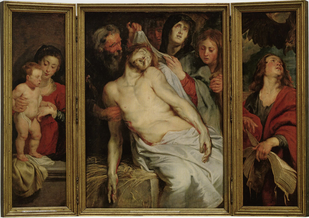 Peter Paul Rubens and Anthony van Dyck - The Lamentation Triptych