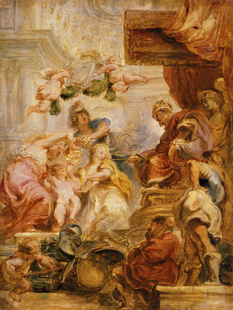 Peter Paul Rubens - The Union of the Crowns of England and Scotland
