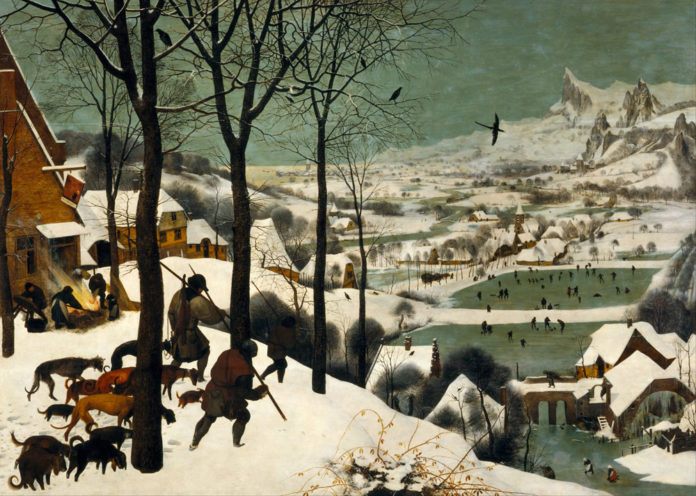 Pieter Bruegel the Elder - Hunters in the snow