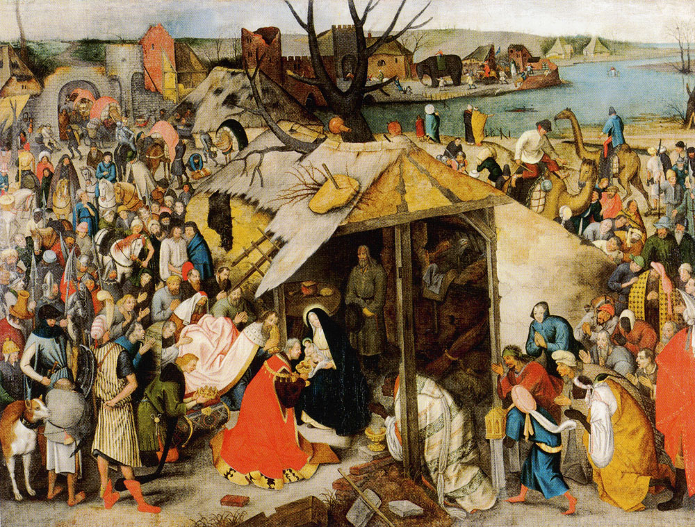 Pieter Brueghel the Younger - Adoration of the Magi in the snow
