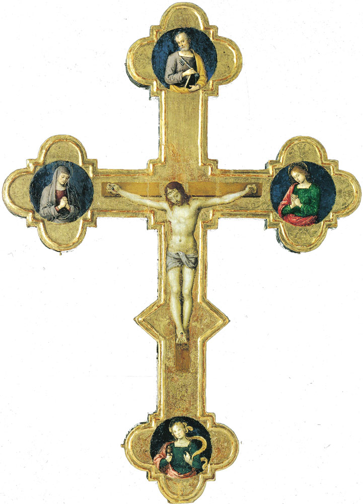 Attributed to Raphael - Processional Cross