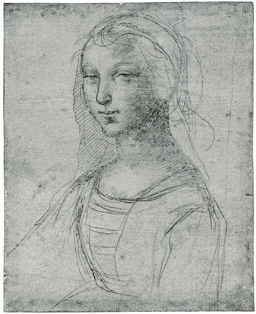 Raphael - A Young Woman, Half-length