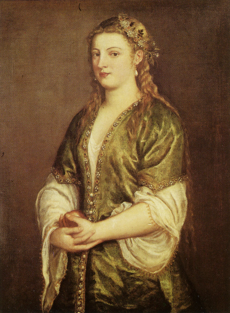 Titian - Portrait of a Lady
