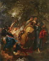 Anthony van Dyck The Betrayal of Christ