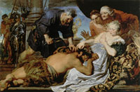 Anthony van Dyck Samson and Delilah
