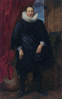 Anthony van Dyck - Portrait of a Member of the Vinck Family