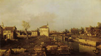 Canaletto - The Portello and the Brenta Canal at Padua