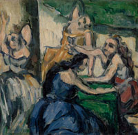 Paul Cézanne The Courtesans