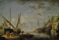 David Teniers the Younger Harbour