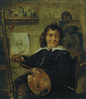 David Teniers the Younger Painter in His Studio