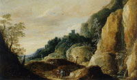 David Teniers the Younger Rocky Landscape