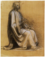 Fra Bartolommeo Study of an Apostle for the Last Judgement