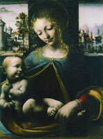 Attributed to Francesco Napoletano - Virgin and Child ('The Madonna Lia')