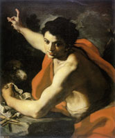 Francesco Solimena - Saint John the Baptist