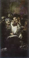 Francisco Goya The Reading or The Politicians