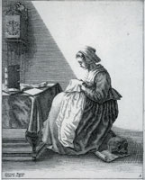 Geertruydt Roghman Woman Reading