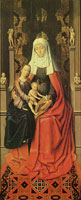 Gerard David St. Anne Altarpiece, middle panel