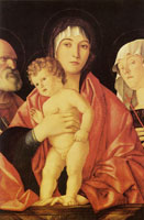 Giovanni Bellini Madonna and Child with Saints