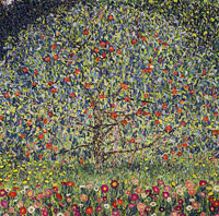 Gustav Klimt Apple Tree I