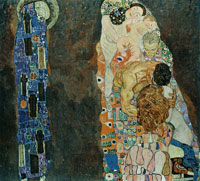 Gustav Klimt Death and Life (first version)