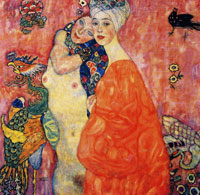 Gustav Klimt - The Girlfriends