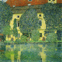 Gustav Klimt Kammer Castle on Lake Attersee III