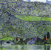 Gustav Klimt Litzlberg on the Attersee