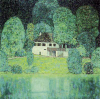 Gustav Klimt Litzlbergkeller on the Attersee