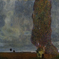 Gustav Klimt The Tall Poplar Tree II