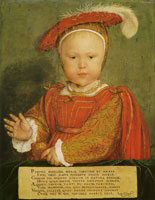 Hans Holbein the Younger Edward VI as a child