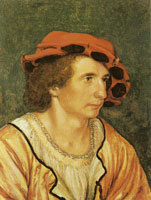 Hans Holbein the Younger - Portrait of a young man