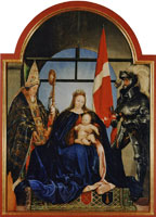 Hans Holbein the Younger Solothurn Madonna
